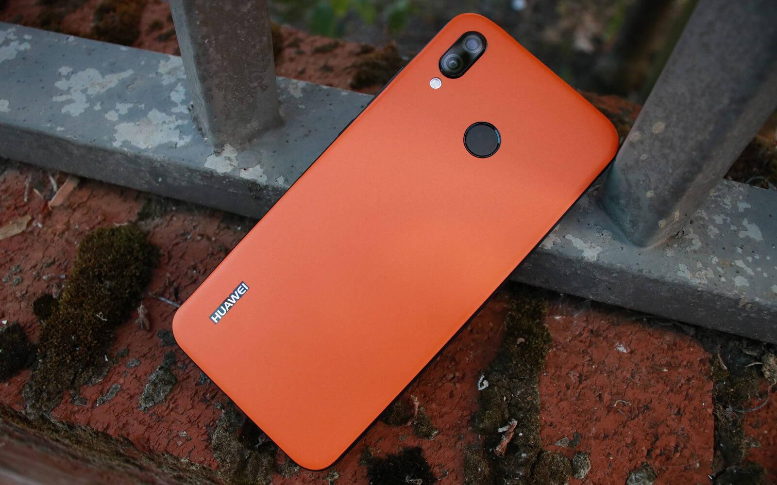 Huawei P20 Lite Matt Orange Skins