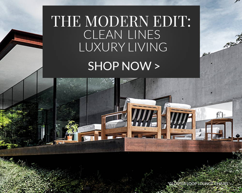Shop the modern edit - Clean Lines, Luxury Living