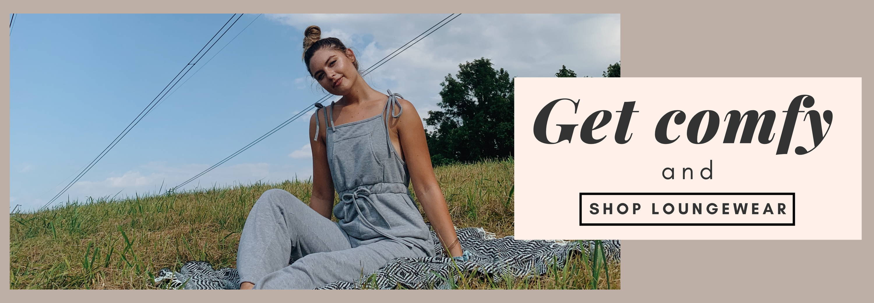 Women's Loungewear- sweatpants, jumpsuits, matching sets, and more