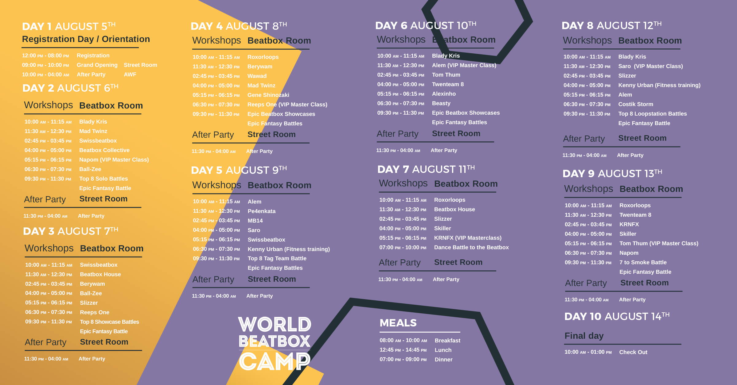 Dear Vips Worldbeatboxcamp