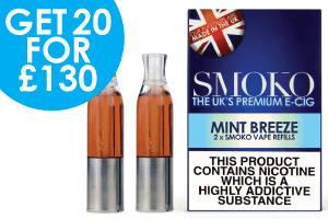 Amazing Mint aromatisierte VAPE Nachfüllpackung für elektronische Zigarette