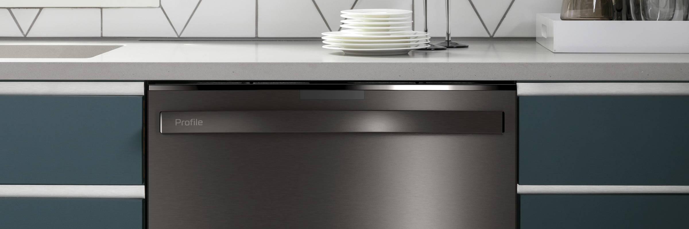 GE Profile Smart Dishwasher Kitchen