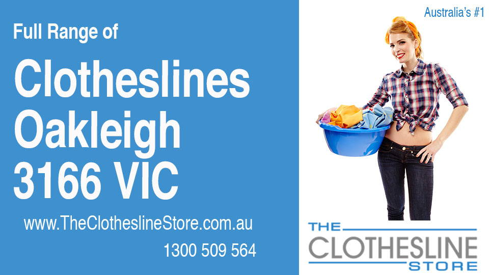New Clotheslines in Oakleigh Victoria 3166
