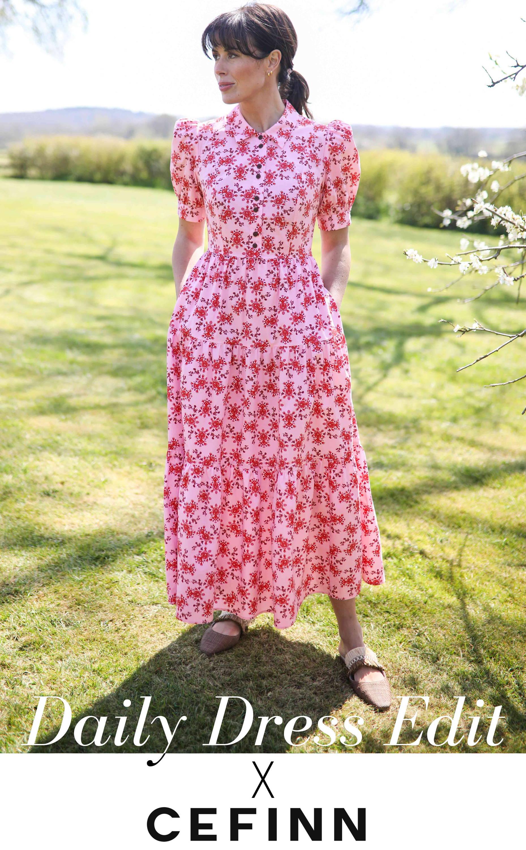 Isabel Spearman in Daily Dress Edit Cefinn Dress