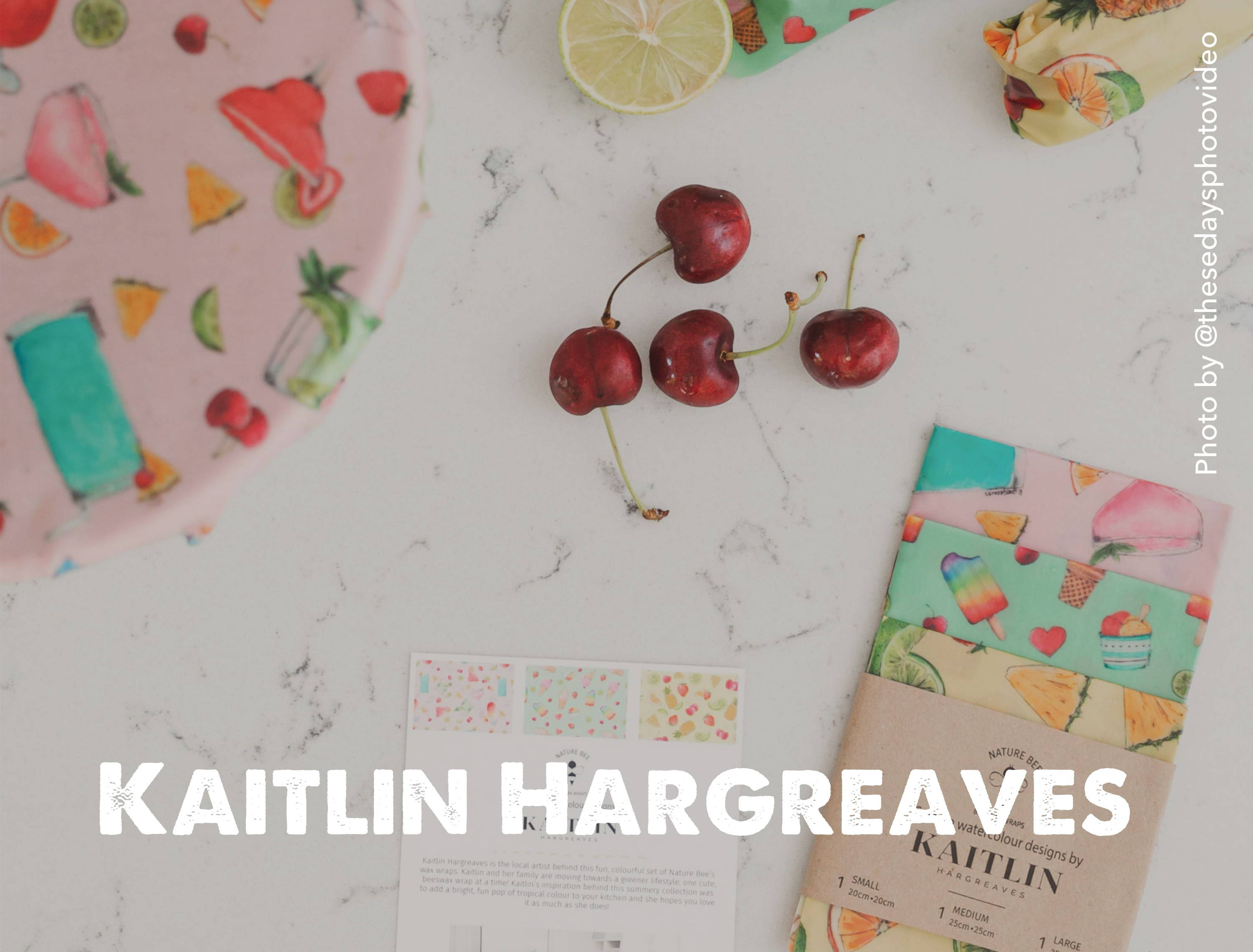 Kaitlin Hargreaves and Nature Bee collab