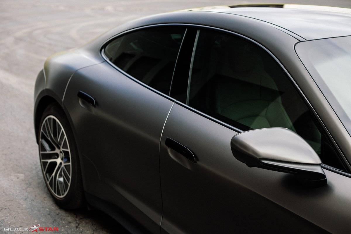 View Porsche Taycan Vehicle Wrap