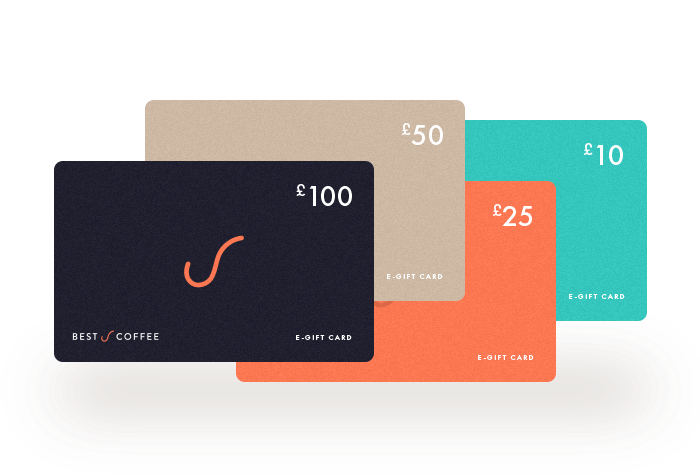 Best Coffee E-Gift Cards