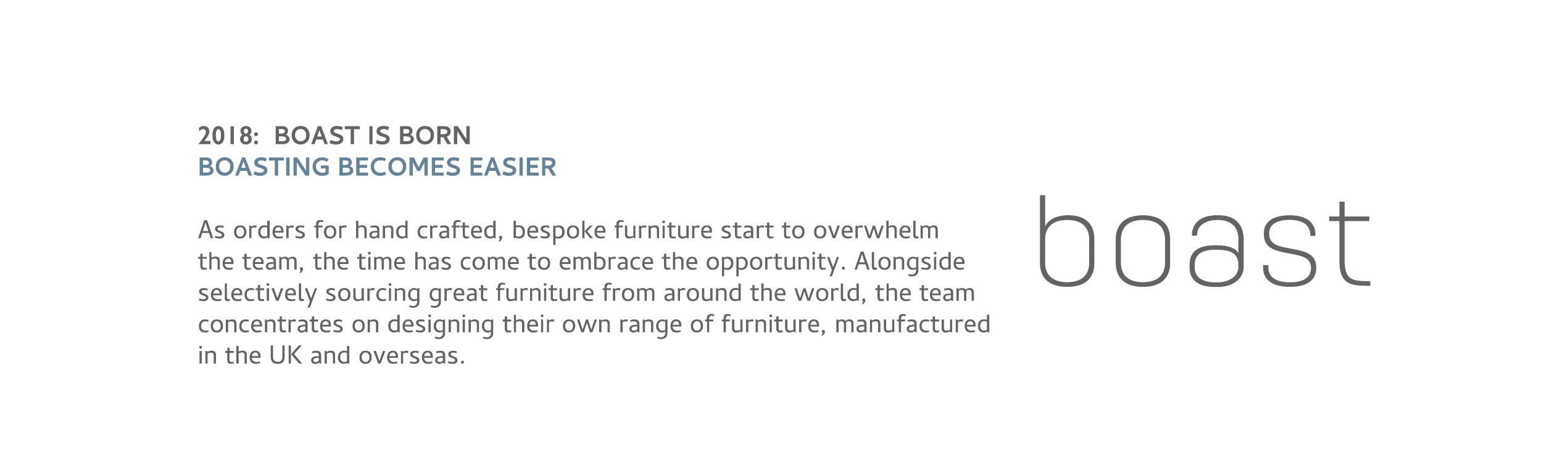 Boast Handcrafted Furniture