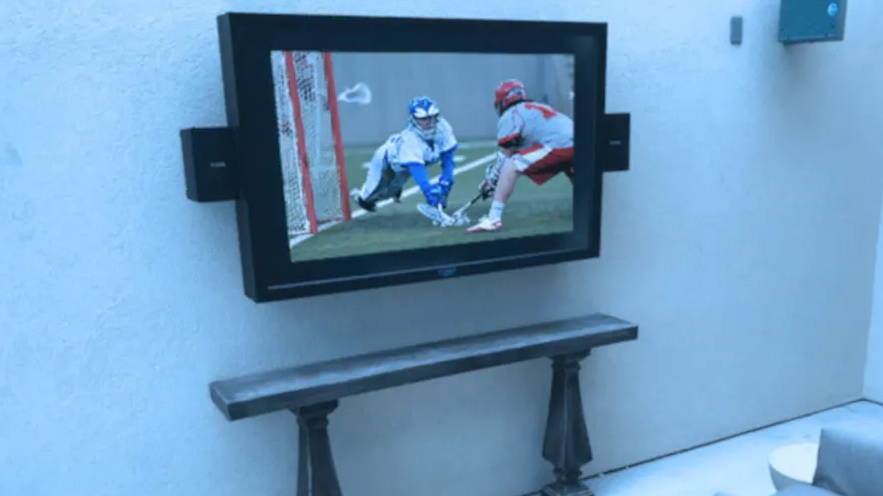 Watch football on your TV outside The TV Shield