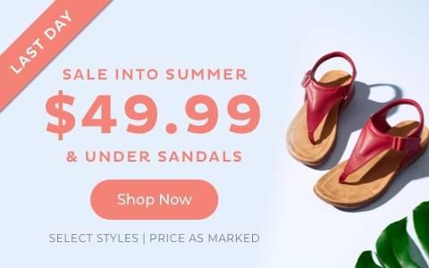 $49,99 & Under Sandals