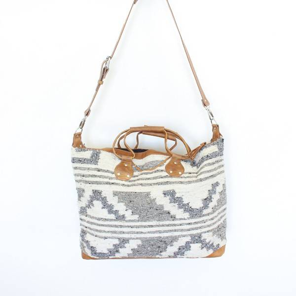 Guatemalan Wool Weekender Bag