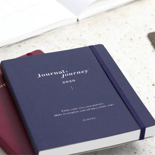 Elastic closure - 2020 Journal Journey dated weekly planner scheduler