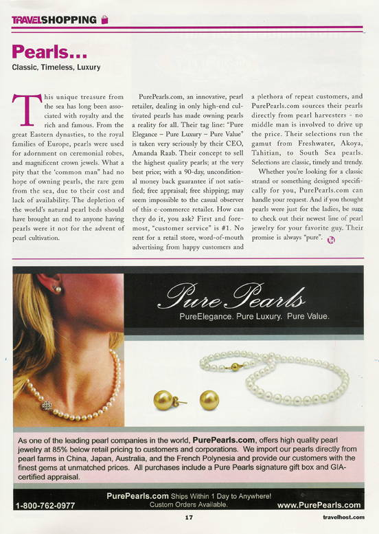 Pure Pearls in Envy Magazine