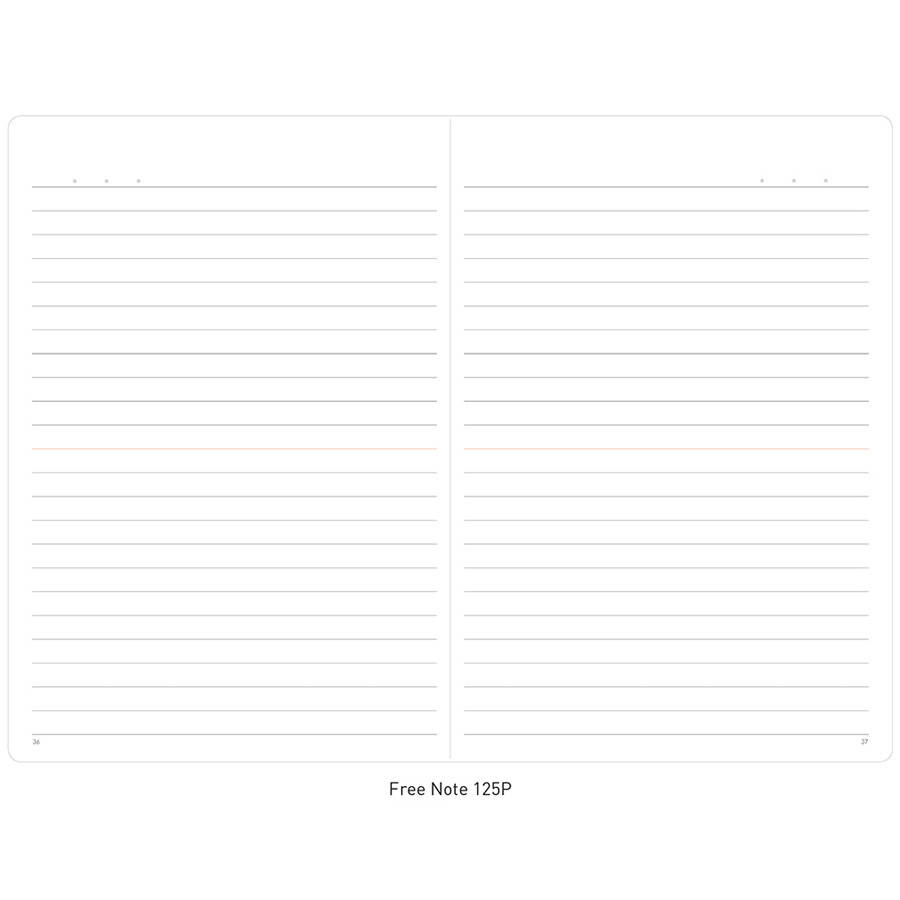 Free note - Ardium 2020 My diary monthly dated planner