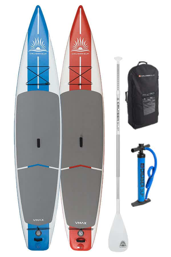 Cruiser SUP V-Max Air inflatable stand up paddle board
