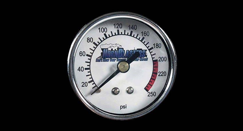 Analog Air Pressure Gauge