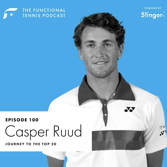 Casper Ruud on the Functional Tennis Podcast