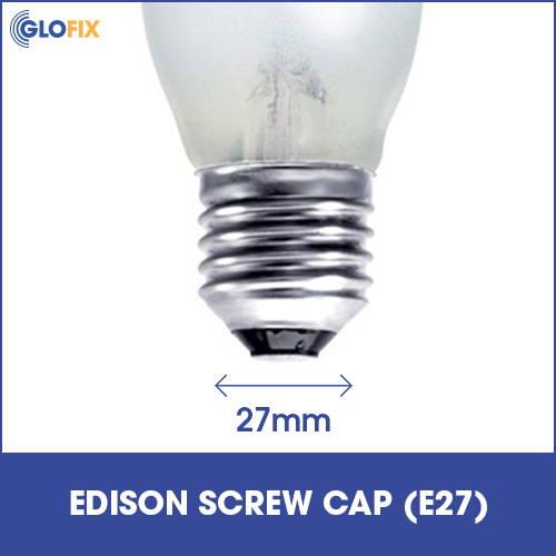 Edison screw cap E27 cap type
