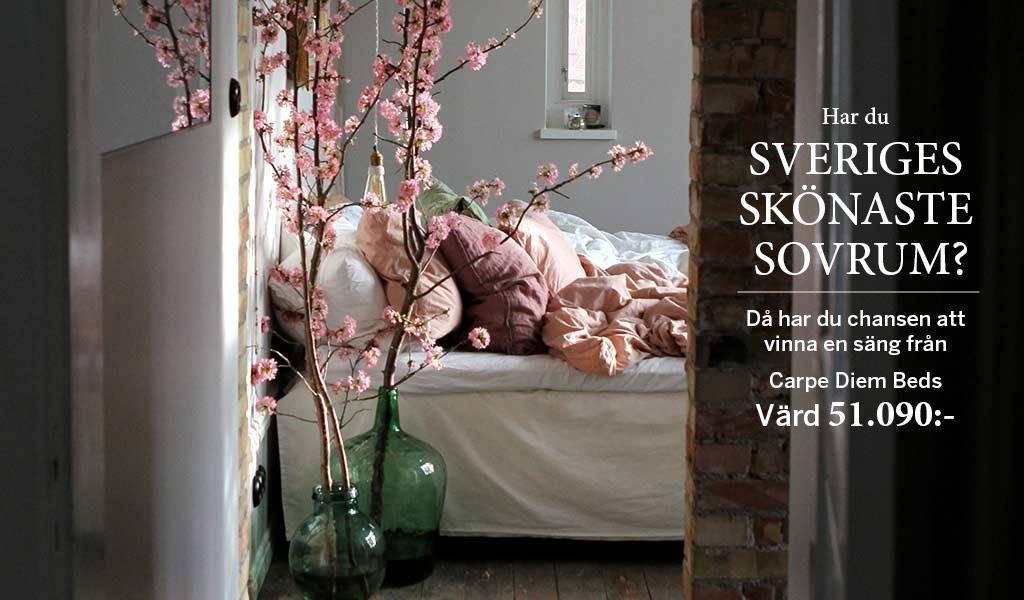 Har du Sveriges skönaste sovrum?