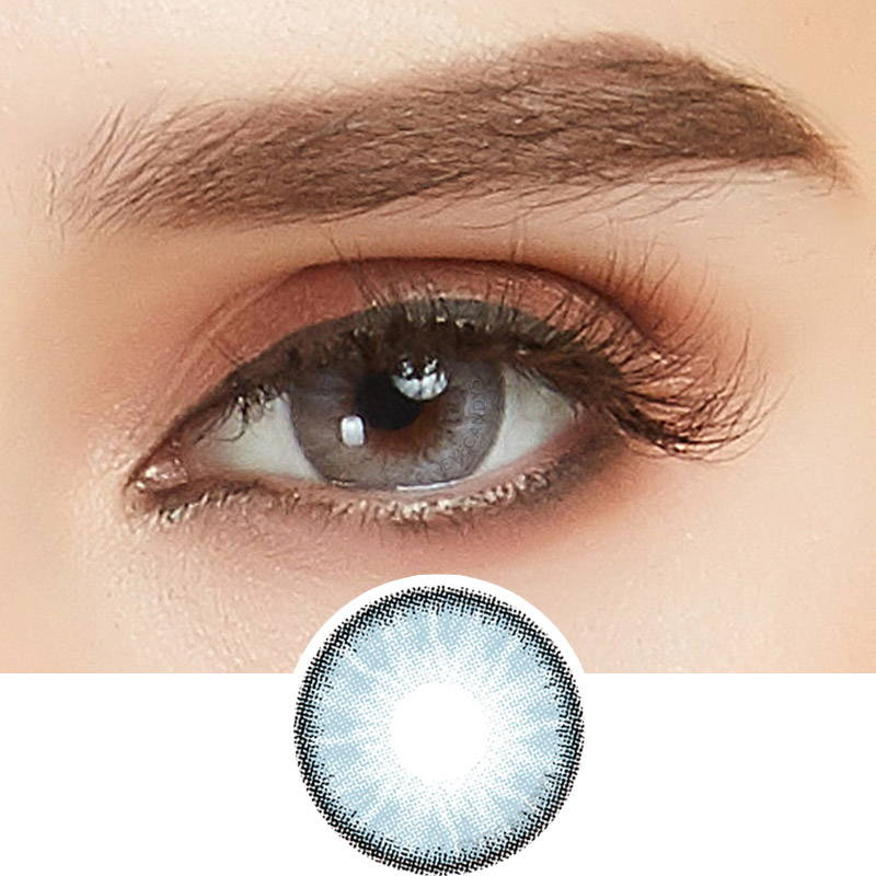 Glacier Blue Colored Contact Lenses