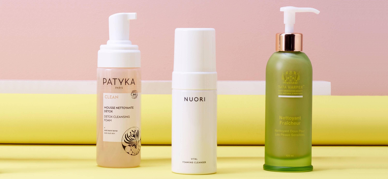 Les nettoyants préférés : Patyka, Nuori et Tata Harper, pour peaux déshydratées