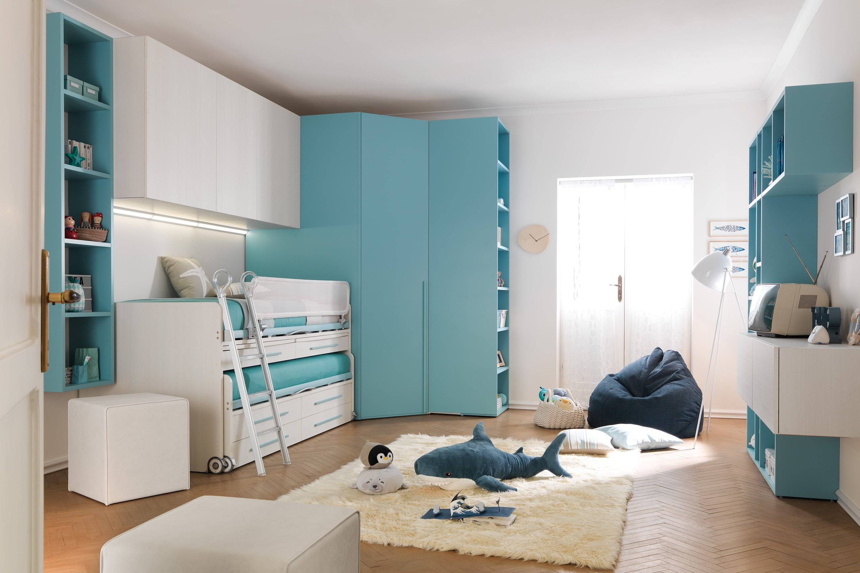 Spaceman Kids Beds Furniture space saving bunk beds loft beds trundle beds