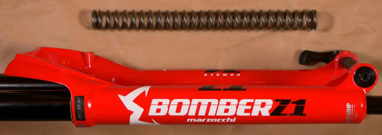 2020 marzocchi bomber z1 coil mountain bike fork gloss red 912-01-101 821973384863