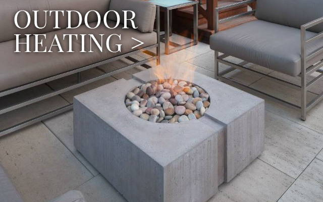 Outdoor Heating: Fire Pits, Fire Bowls & Patio Heaters