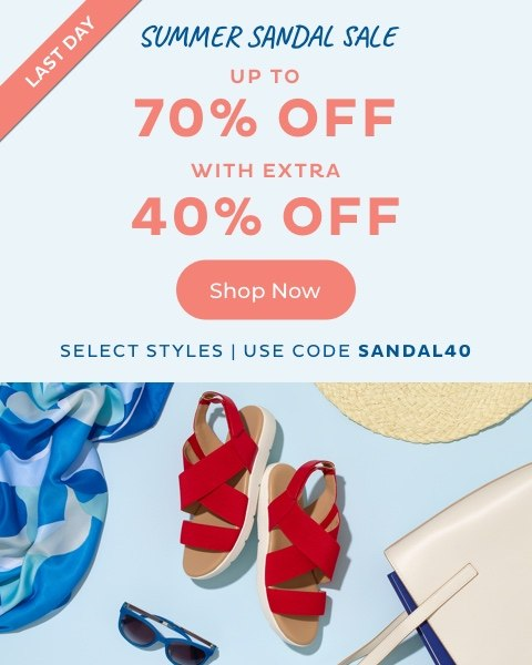 Summer Sandal Sale