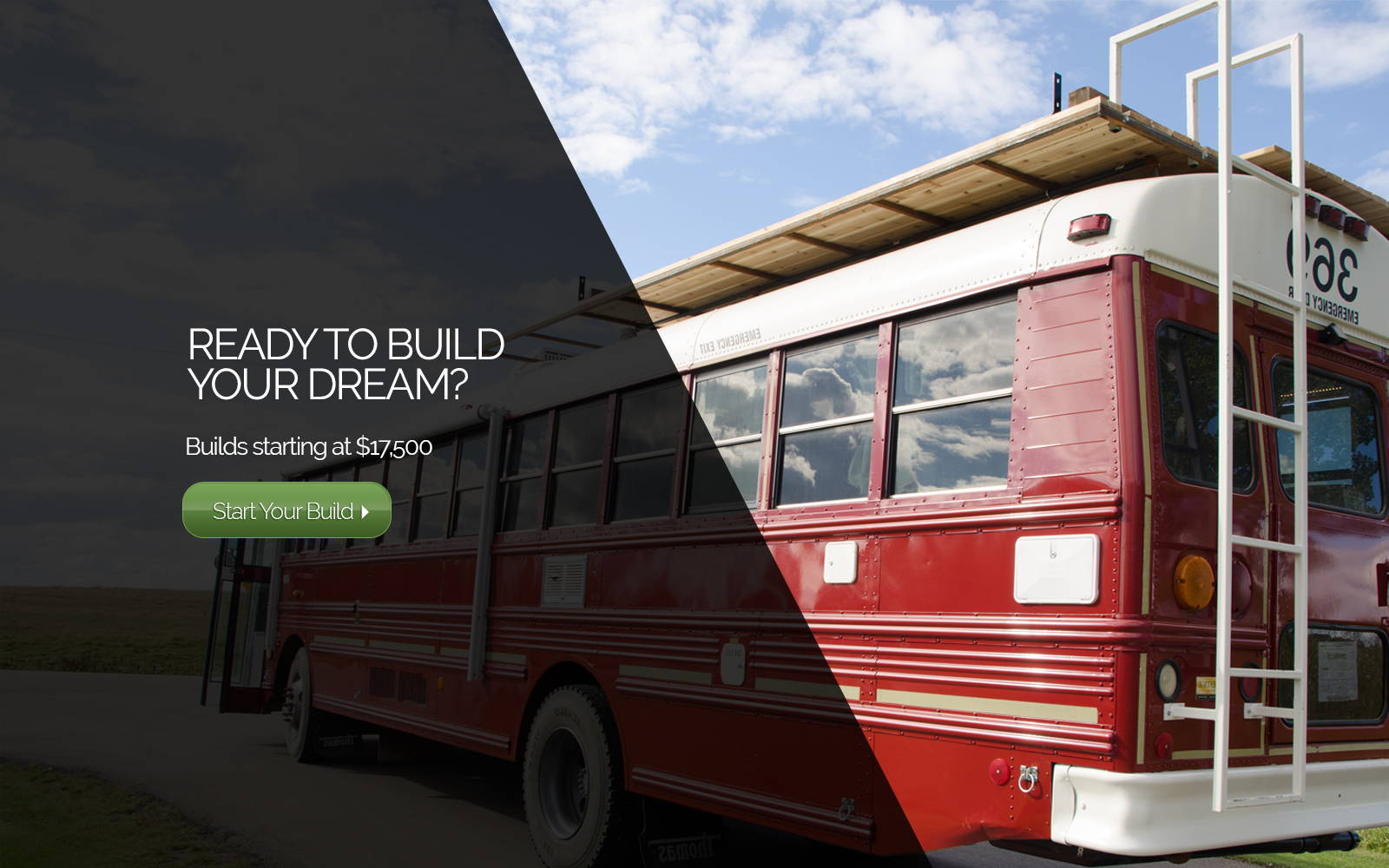 School bus conversion - start your build