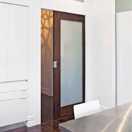 wood pocket doors