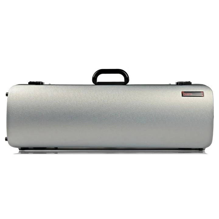 Bam Hightech Oblong Violin Case Metallic Silver