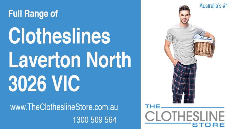 New Clotheslines in Laverton North Victoria 3026