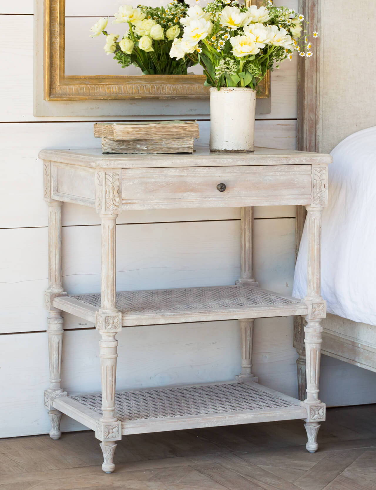 Eloquence® Napoleon Nightstand in Beach House Natural Finish