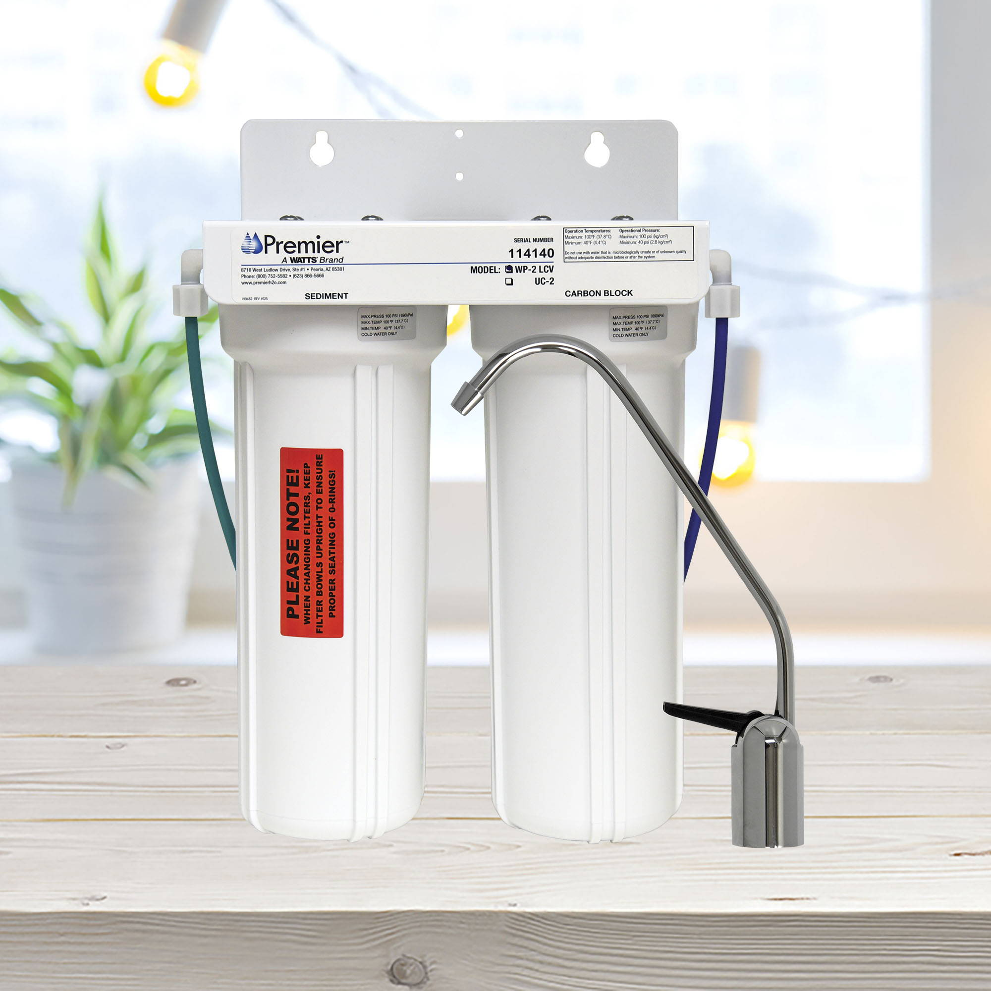 Watts Premier WP2-LCV Water Filtration