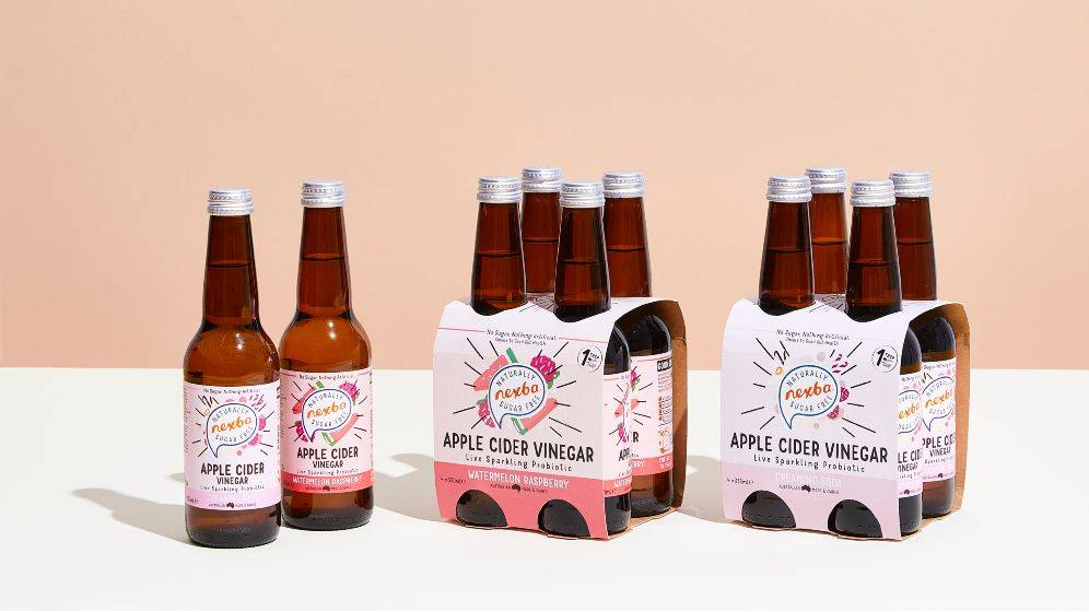 Nexba Apple Cider Vinegar Soda available at Woolworths