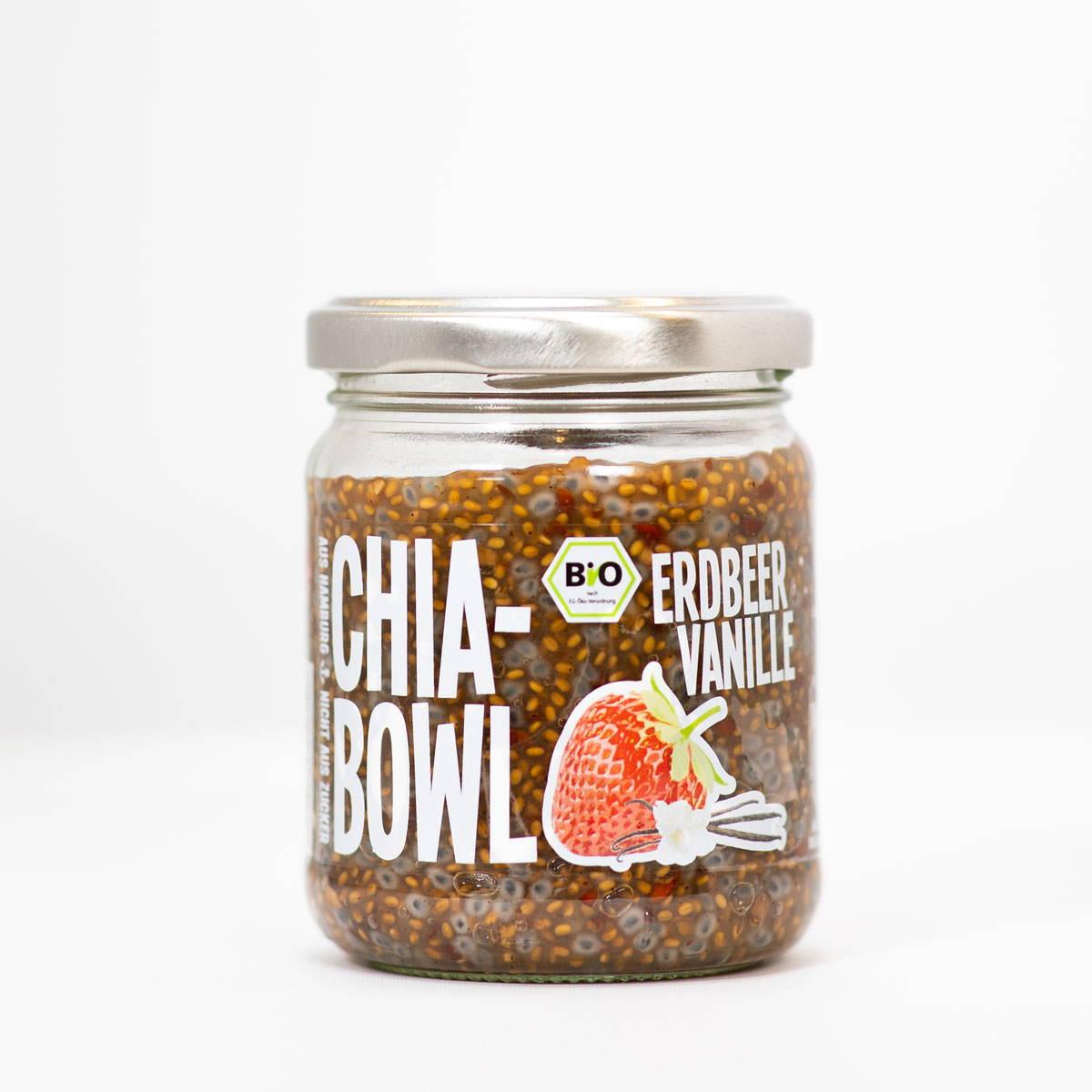 Chia Bowl Erdbeer Vanille