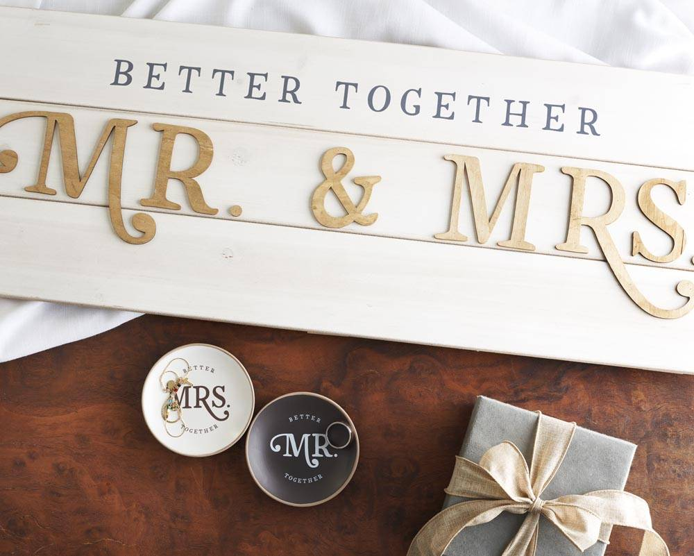 Mr. and Mrs. Gift Ideas