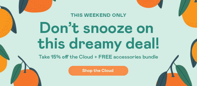 don't snooze on this dreamy deal - free accessories bundle