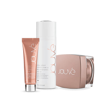 Jouvé's complete line includes 1 lifting tensing serum, 1 night cream, 1 brown spot corrector cream www.ariix.store