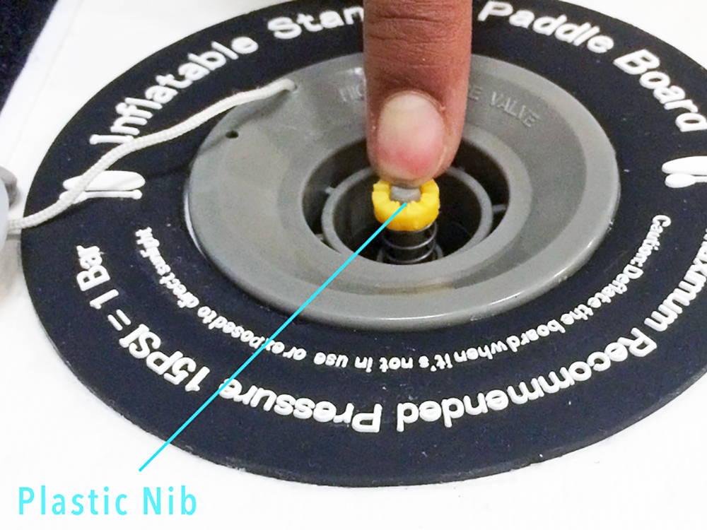 nib in insertio valve