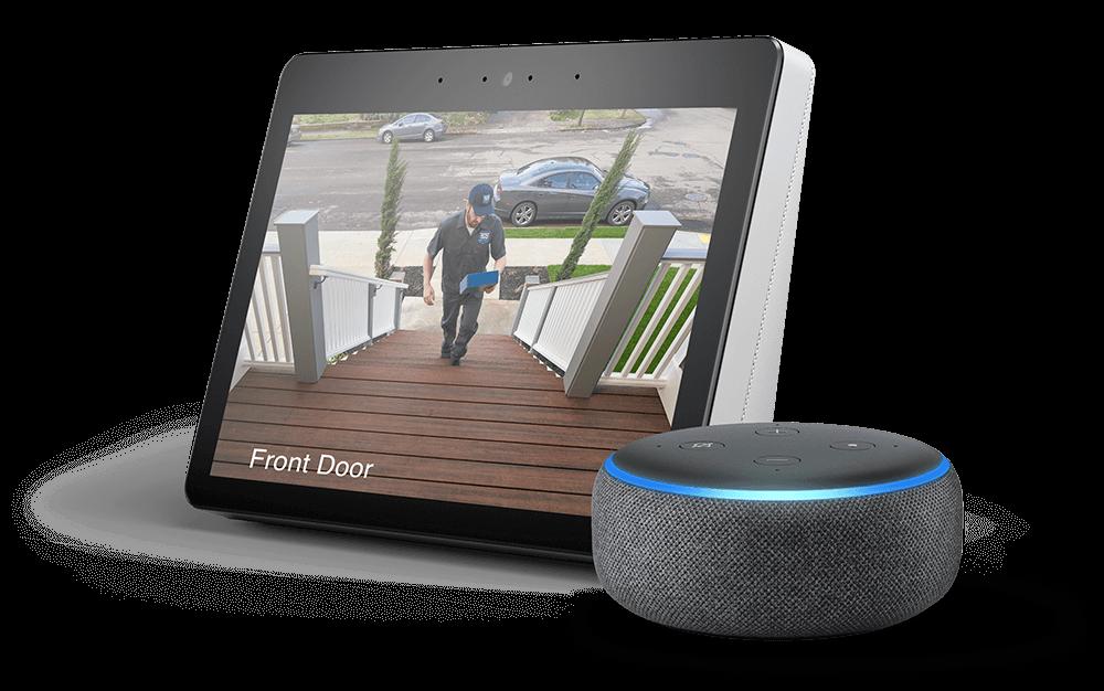 lorex works with Amazon Alexa