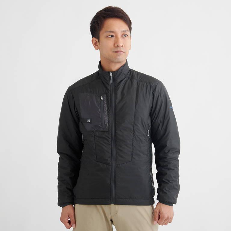 finetrack(ファイントラック)/ポリゴン2ULジャケット/ブラック/MENS