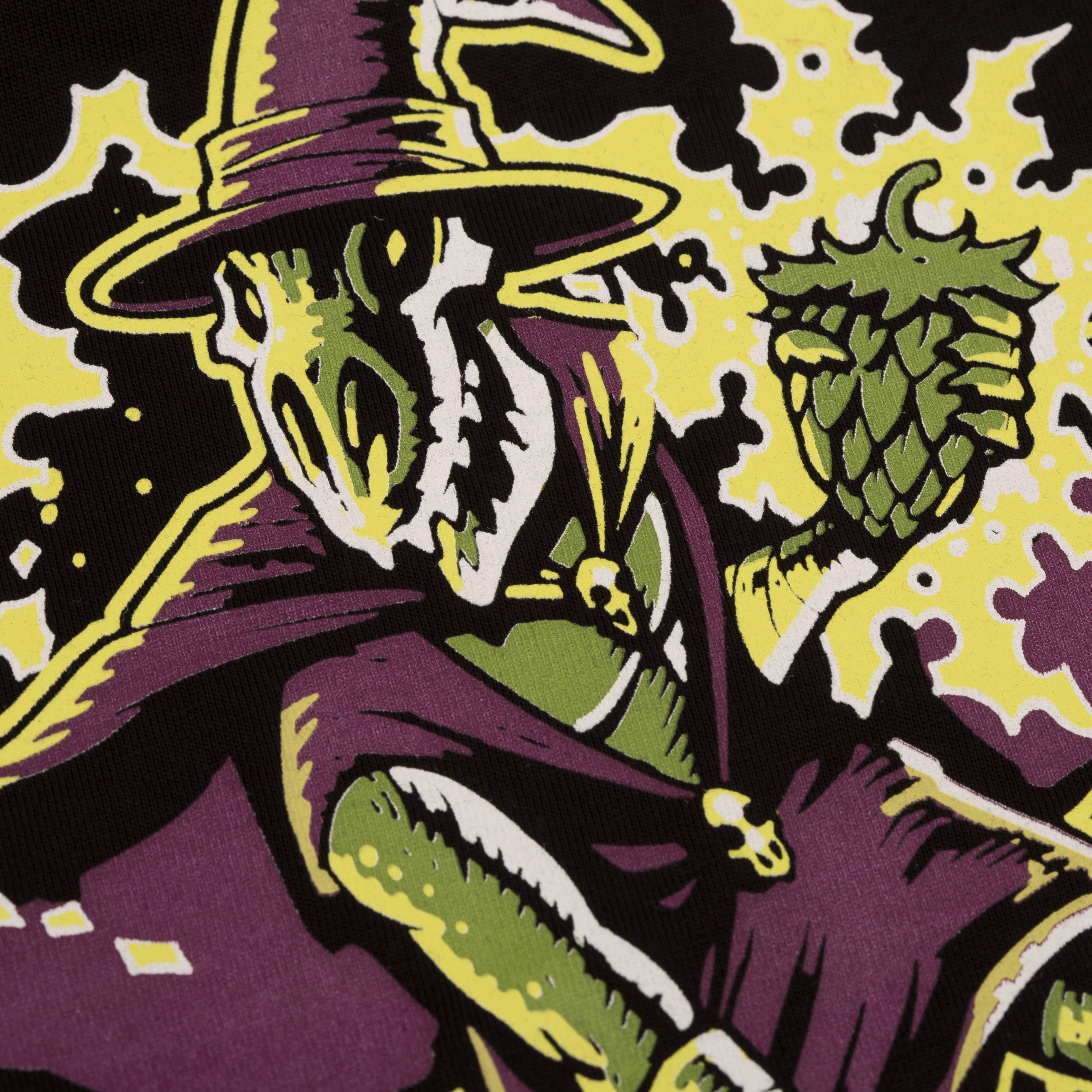 Boneface Brewing the wizard custom screen printed tees and embroidery nz