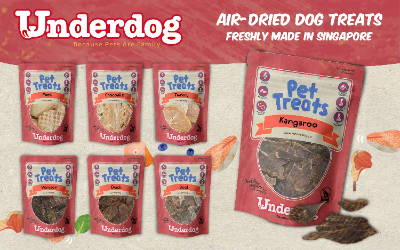 Underdog pet treats 1
