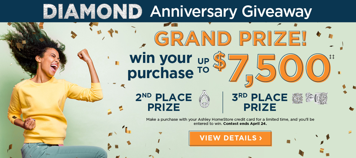 Win Your Purchase! Up to $7,500 plus 2nd and 3rd place prizes!