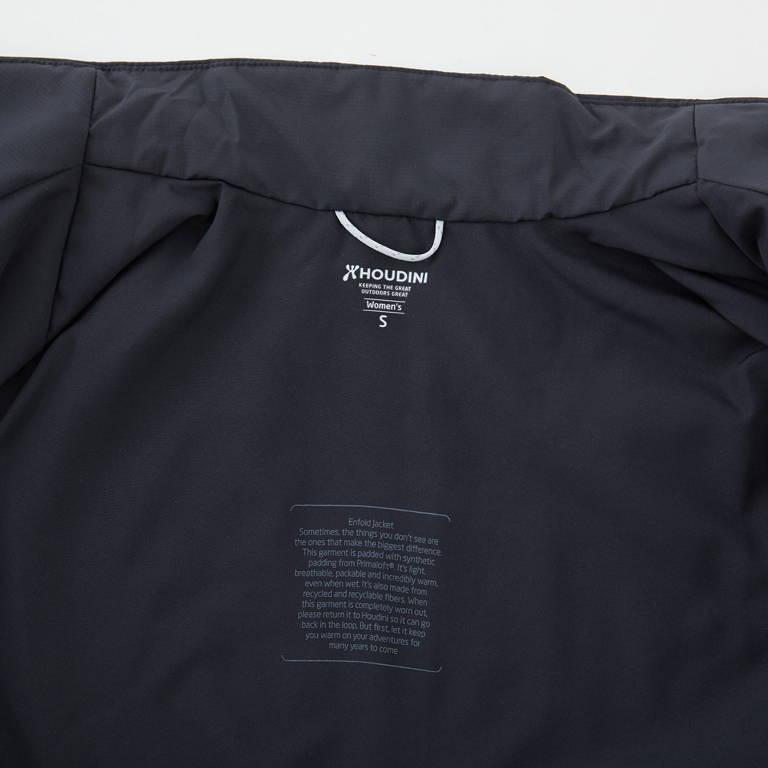 HOUDINI(フーディニ)/エンフォールドジャケット/ブラック/MENS