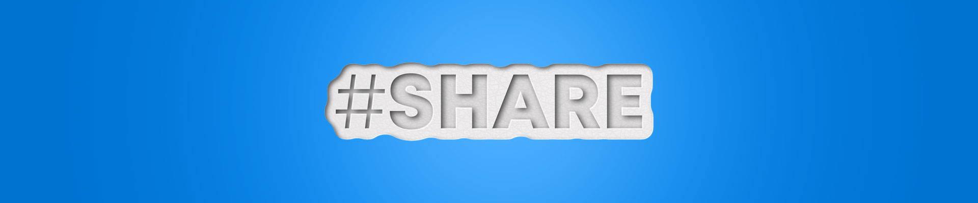 Share 3d text