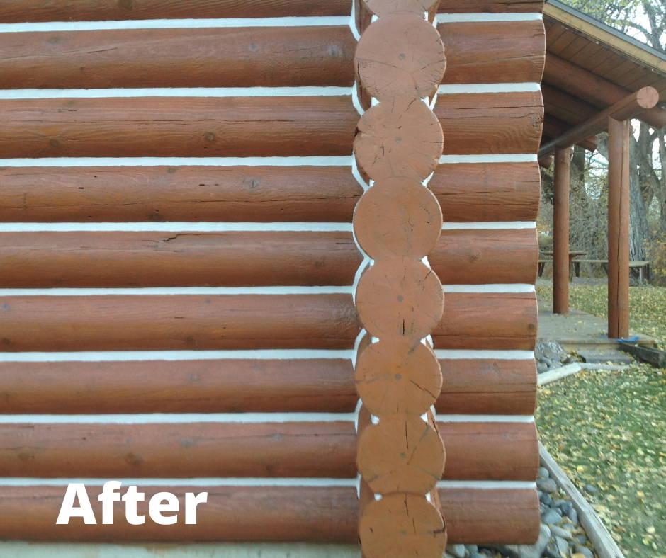 After Log Home Maintenance