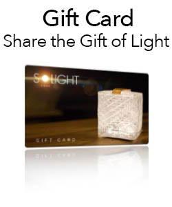 Gift Card for solar lanterns